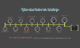 Litteraturhistorisk tidslinje