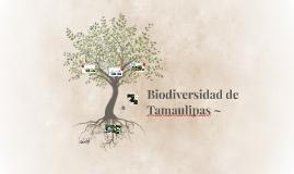 Copy of Biodiversidad de Tamaulipas ~