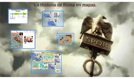 La historia de Roma en mapas
