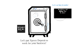 Xpress Deposit Demo