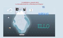 Copy of LA DESCOMPOSICIÓN DE LA PERSONALIDAD PSIQUICA