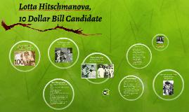 Lotta Hitschmanova,
