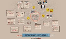Copy of HONDURAS 1920-1940