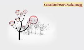 Canadian Poetry Assignment-Margaret Avison