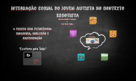Integração social do jovem autista no contexto escotista