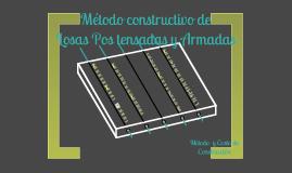 Copy of Losas Postensadas