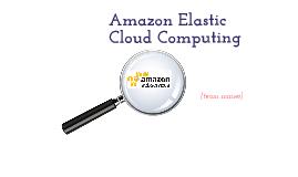Amazon Cloud Computing