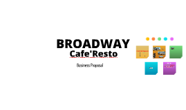 BROADWAY Cafe'Resto