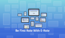 Be First Rate With e-Rate