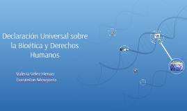 Copy of Declaración Universal sobre la Bioética y Derechos Humanos