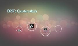 1920's Counterculture
