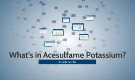 What's in Acesulfame Potassium?