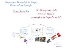 Copy of El ciberespacio visto como un espacio geográfico de impacto social