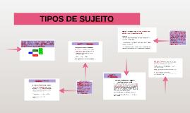 TIPOS DE SUJEITO - 7ºs e 8°s anos