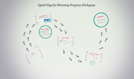 Quick Tips for Planning Progress Dialogues