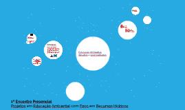 Projetos em Educação Ambiental - Apresentação Fernanda
