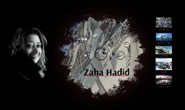 DES 112 - Zaha Hadid