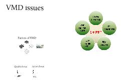 VMD Issue Presentation
