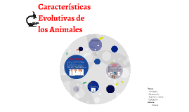 Copy of Caracteristicas Evolutivas de los Animales