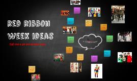 red ribbion week ideas