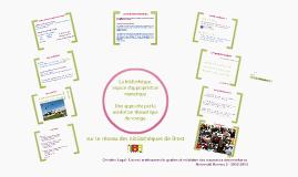 """Restitution Brest """"La bibliothèque, espace d'appropriation numérique"""""""