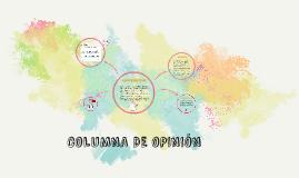 cOLUMNA DE OPINIÓN