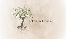 Lof voor de Leraar 2.0