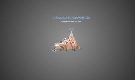 CURSO DE FUNDAMENTOS