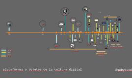 Timeline de la cultura digital. Objetos, plataformas, prácticas
