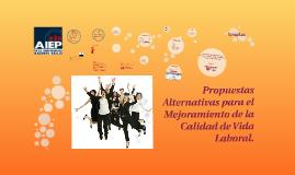 Propuestas Alternativas para el Mejoramiento de la Calidad d