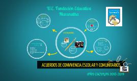 Copy of ACUERDOS DE CONVIVENCIA ESCOLAR Y COMUNITARIA