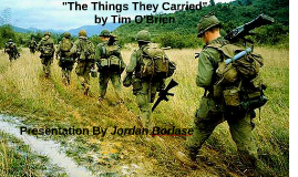 Copy of The Things They Carried: Mental vs Physical aspects of war