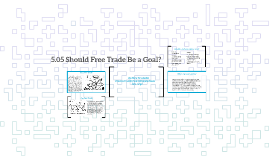 5.05 Should Free Trade Be A Goal