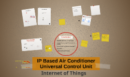 IP Based Air Conditioner Universal Control Unit