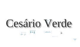 Trabalho de Português - Cesário Verde