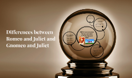 Diffrences between Romeo and Juliet  and Gnomeo and Juliet