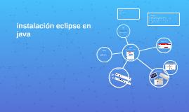 instalación eclipse de java