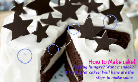 How to Make cake!