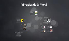 Principios de la Moral