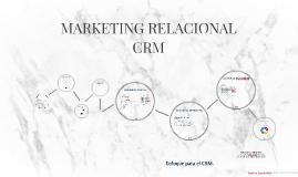 MARKETING RELACIONAL (CRM)