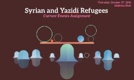 Syrian and Yazidi Refugees