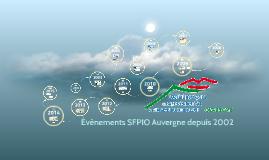 SFPIO Auvergne de 2002 à 2015