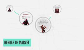 HEROES OF MARVEL