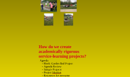 Service Learning and Standards