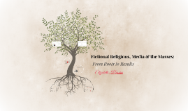 Fictional Religions in the Media