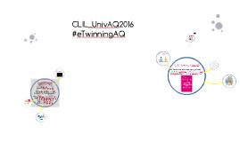 CLIL_UnivAQ2016 #eTwinningAQ