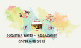 DOMINIKA ROJEK - AMBASADOR CAPGEMINI 2016