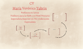 María Verónica Yubrin