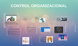 CONTROL ORGANIZATIVO