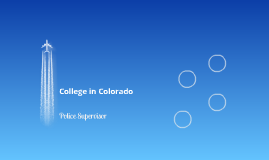 College In Colorado